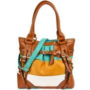 Oversized Satchel With Color Blocking From Handbag Heaven Cute Bags For