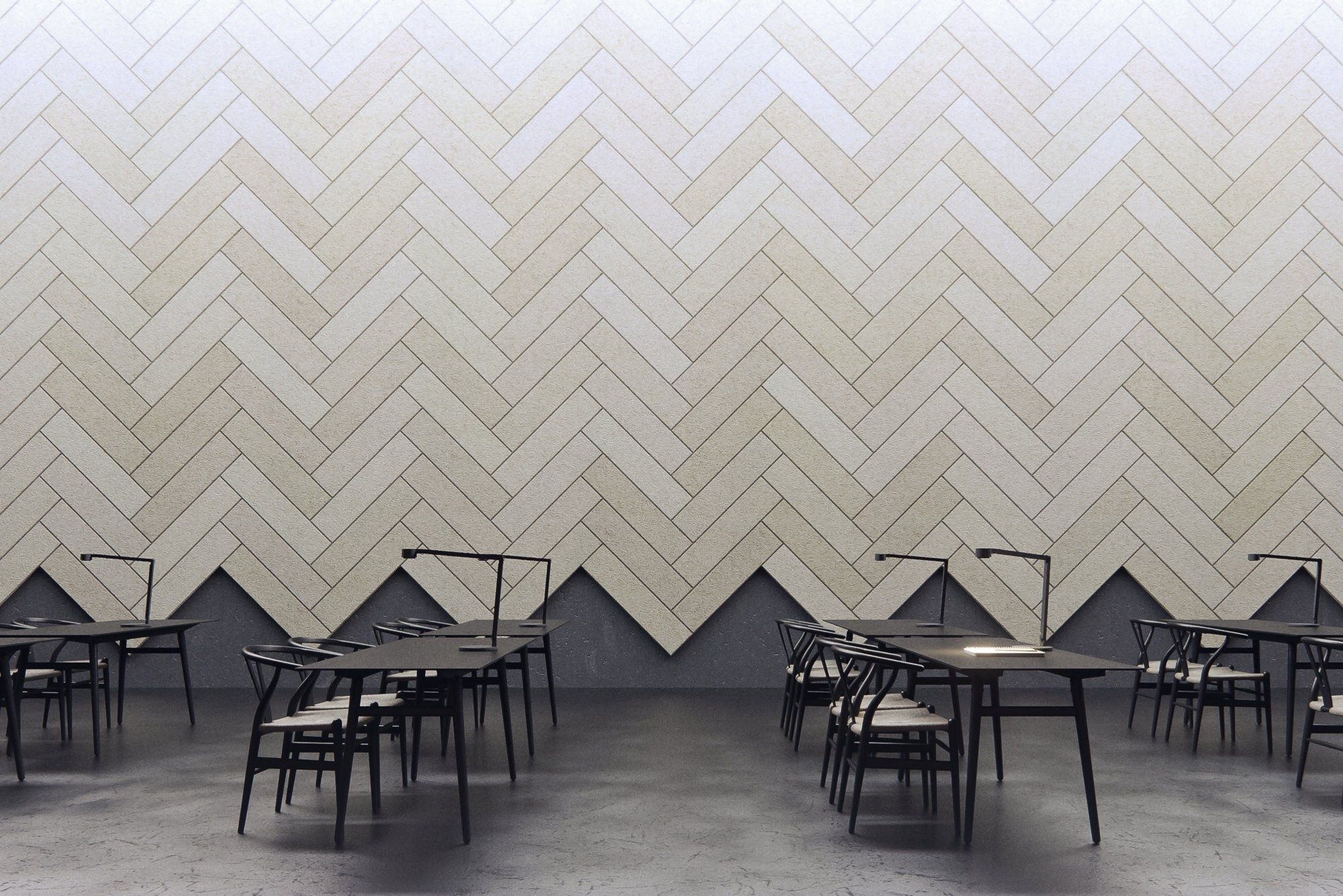 Decorative acoustical panels baux acoustic tile plank by baux design form us with love walls - Decorative acoustic wall panels ...