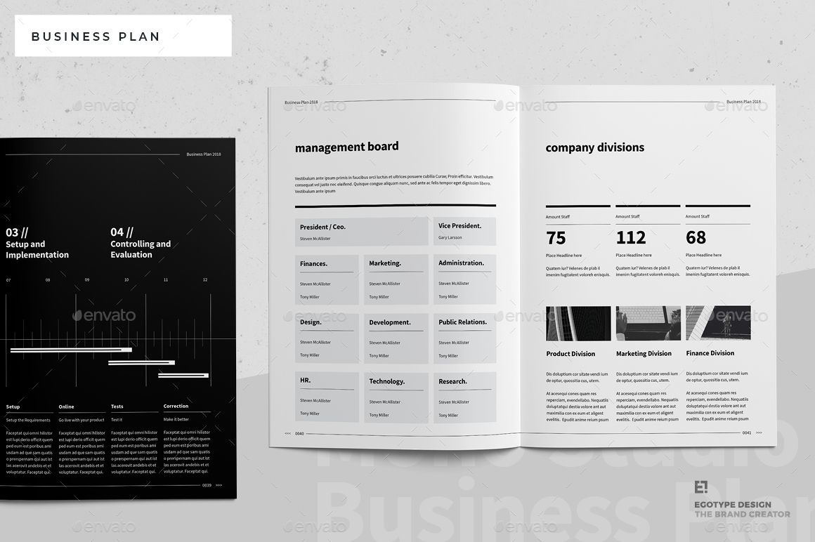 Business Plan Business, Plan Invoice design, Business