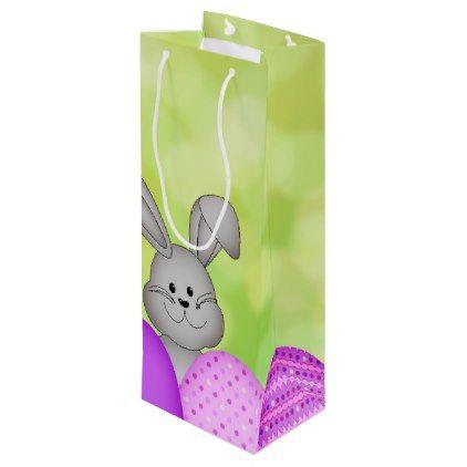 Easter wine gift bag easter wine gift bag traditional gift idea diy unique negle Images
