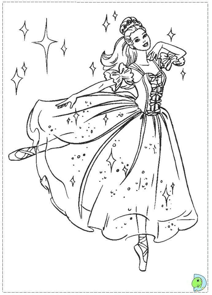 barbie Nutcracker Coloring page - DinoKidsorg Kids Stuff - fresh belle coloring pages games
