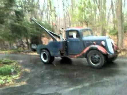 Image Result For New Zealand Built 1935 Ford Tow Truck Ford