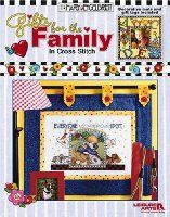 Gifts for the Family in Cross Stitch (Leisure Arts #3658)
