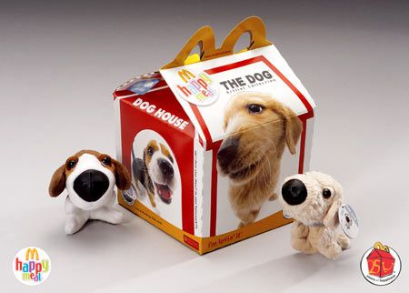 Artlist Collection The Dog At Mcdonalds Happy Meal Mcdonalds Happy Meal Weird Toys