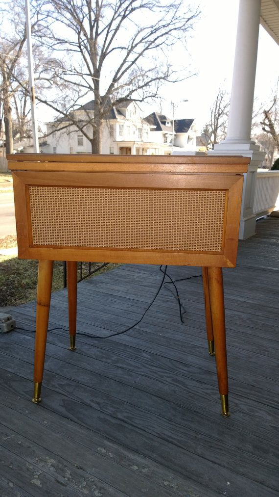Best Mid Century Modern Danish End Table Night Stand Sewing By 640 x 480