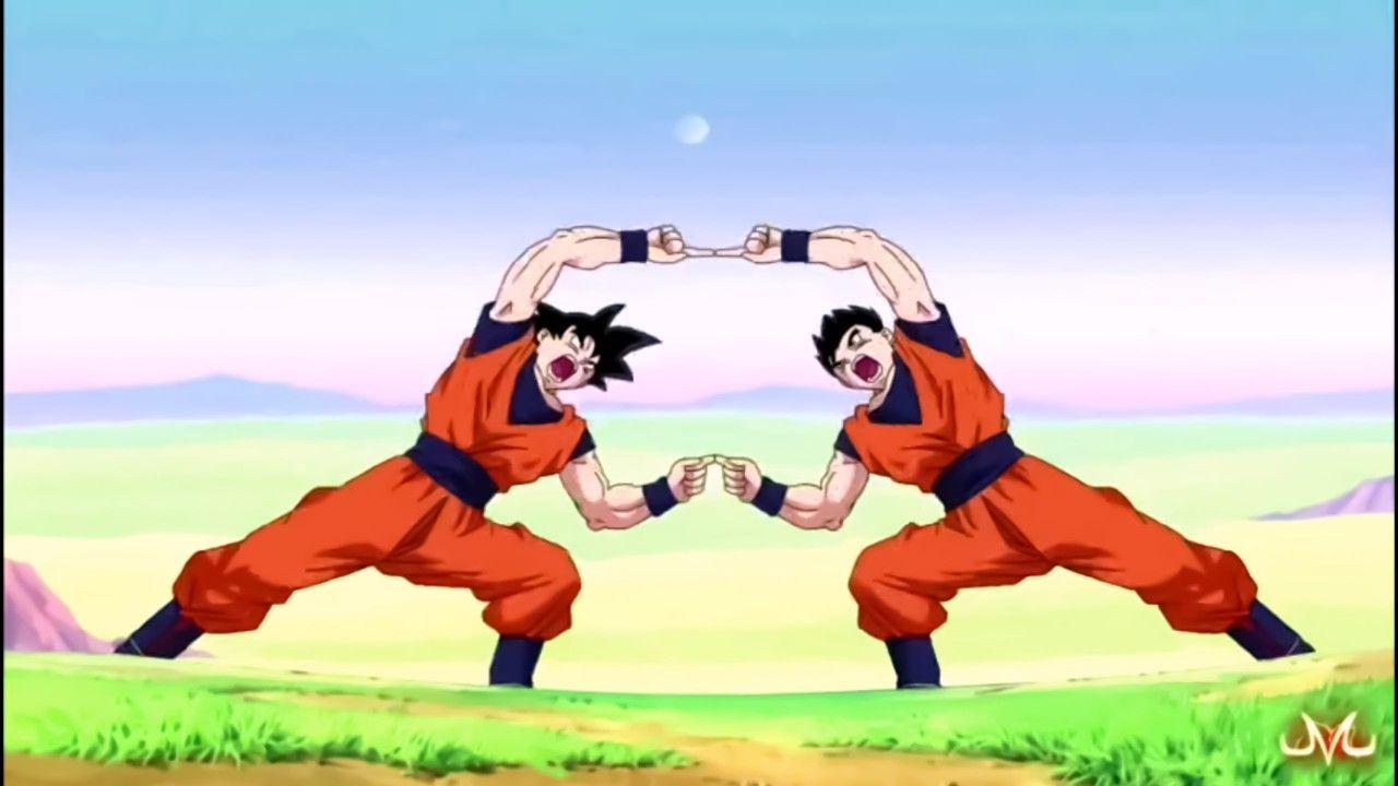 Goku X Gohan Fusion Anime Dragon Ball Super Goku And Gohan Goku And Gohan Fusion