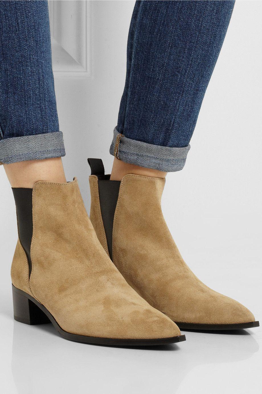 c8d203a8495 Acne Studios | Jensen suede ankle boots | NET-A-PORTER.COM | for me ...