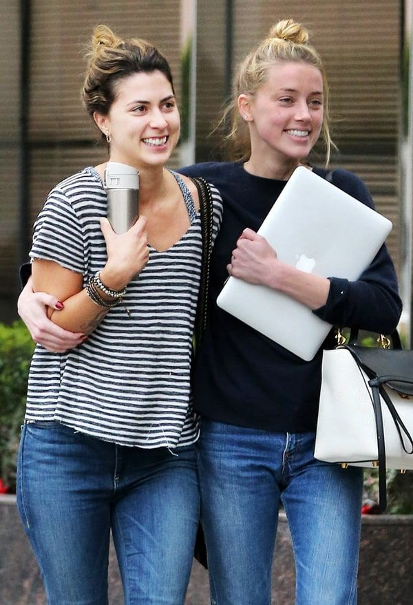 Amber Heard Smiles Day After Getting Restraining Order Against Johnny Depp Amber Heard Johnny Depp Amber Heard Style