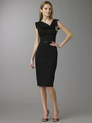 Vestidos negros de vestir