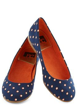 A Night to Remember Flat in Dots, #ModCloth
