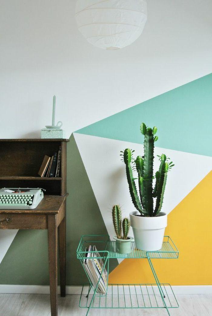Le Papier Peint Géométrique En 50 Photos Avec Idéеs Creative