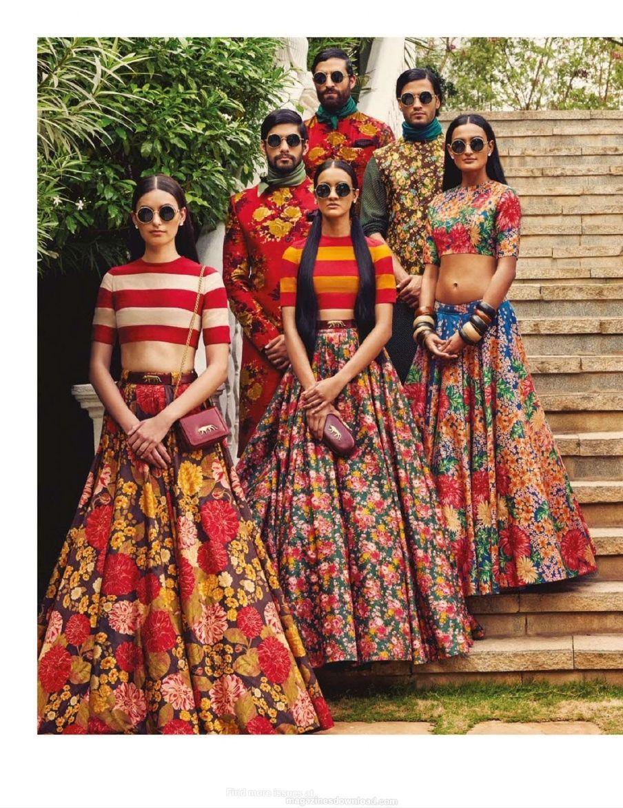 Vogue India - April 2015                                                                                                                                                                                 More