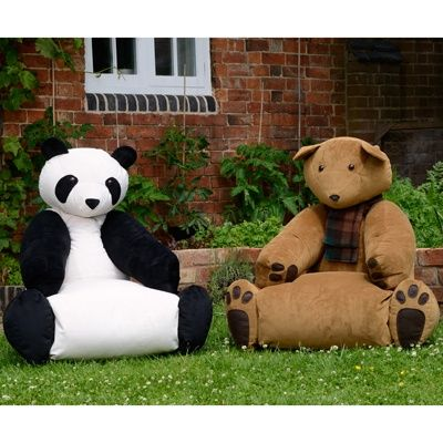 Panda and bear chairs!!!