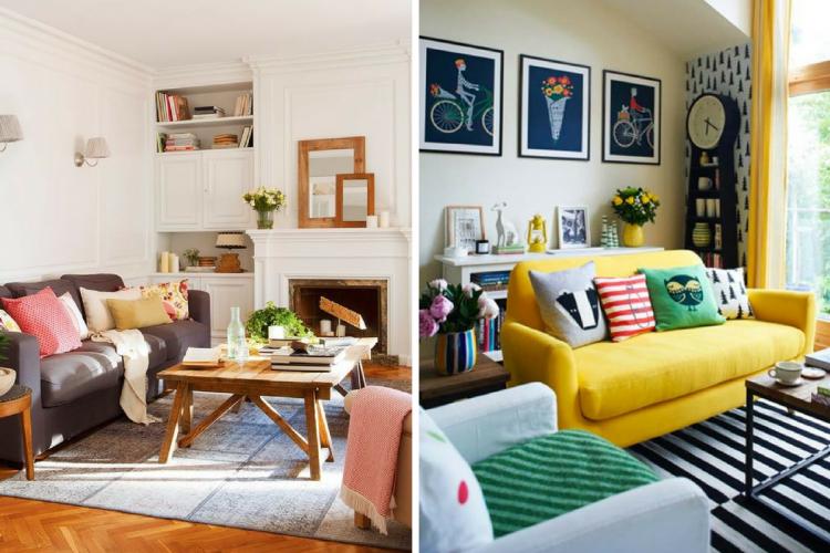 25 salas de estar peque as muy acogedoras salas de estar for Salas muy pequenas