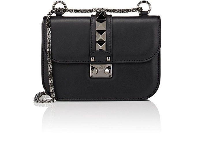ed5982ac9a5951 VALENTINO Lock Mini Crossbody Bag. #valentino #bags #shoulder bags #leather  #crossbody #