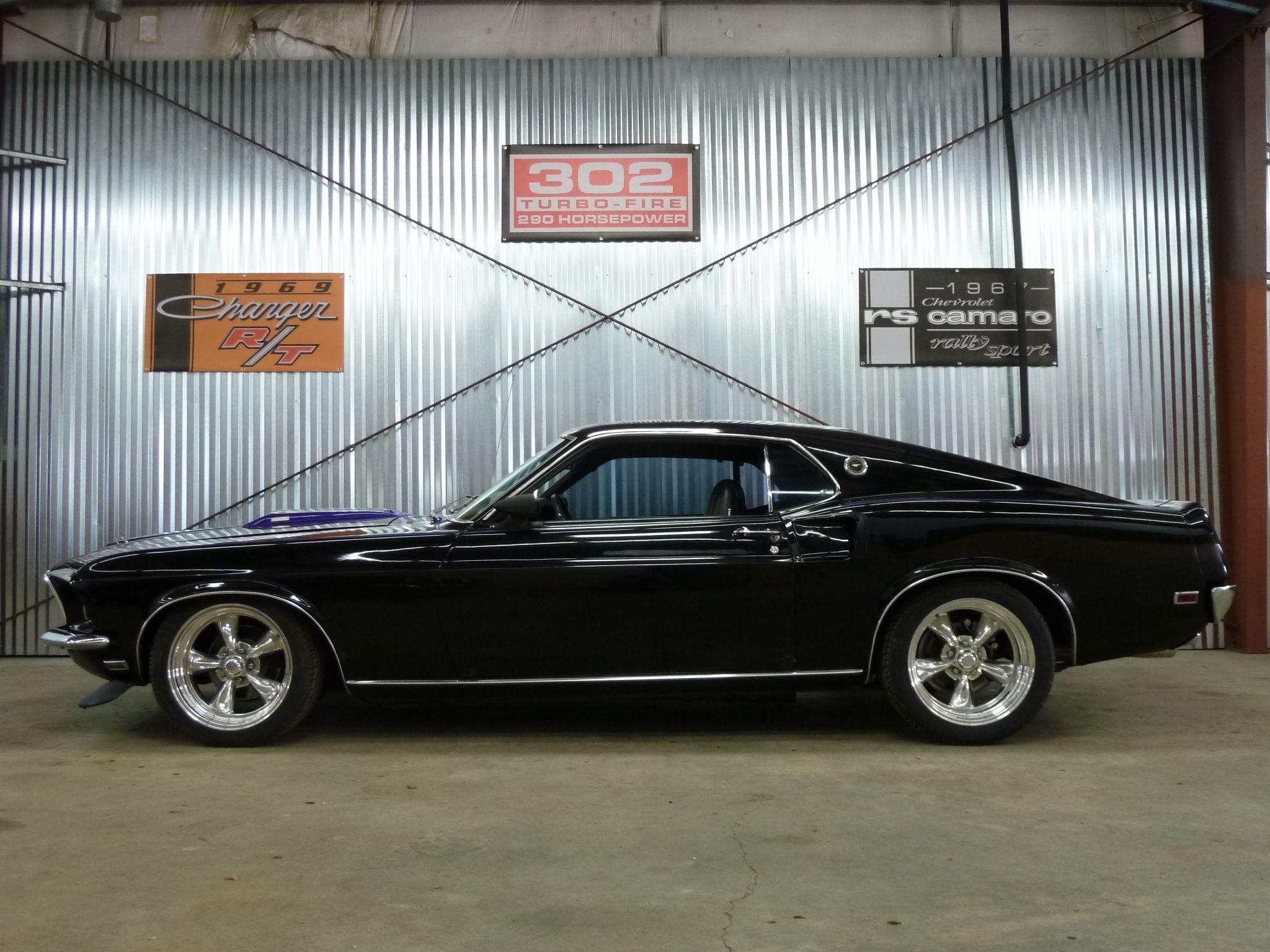 Image Detail For 1969 Mustang Fastback 428cj 4 Speed 4 Wheel