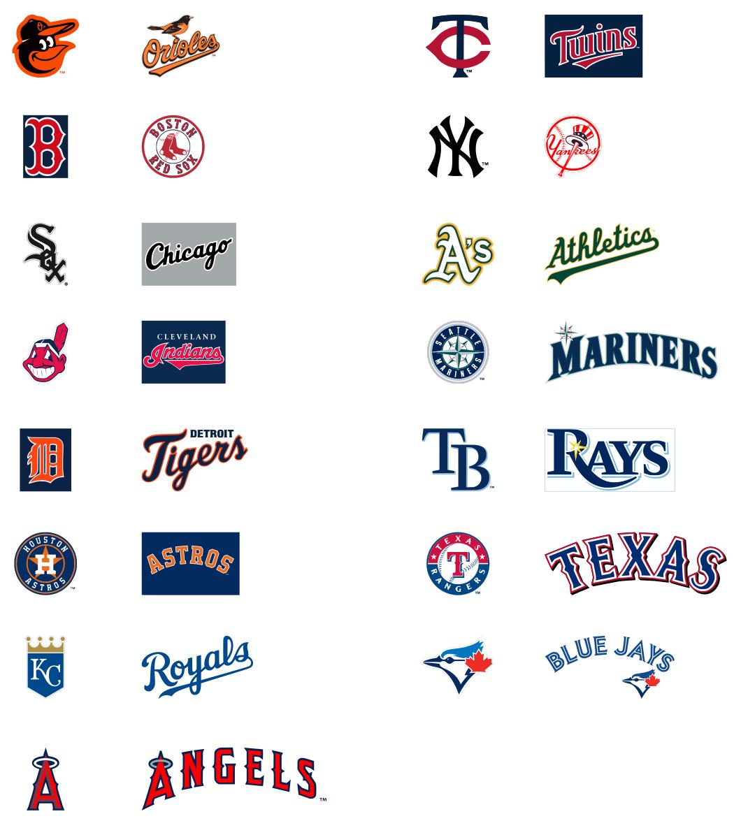 Krafty Nook Mlb American Baseball League Svg Files Cricut Explore Svg Svg American Baseball League