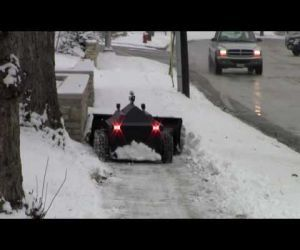 Robo Snow Plow You May Want One Of These Video Clips From The