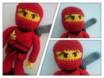 Ninja - Amigurumi Häkelanleitung
