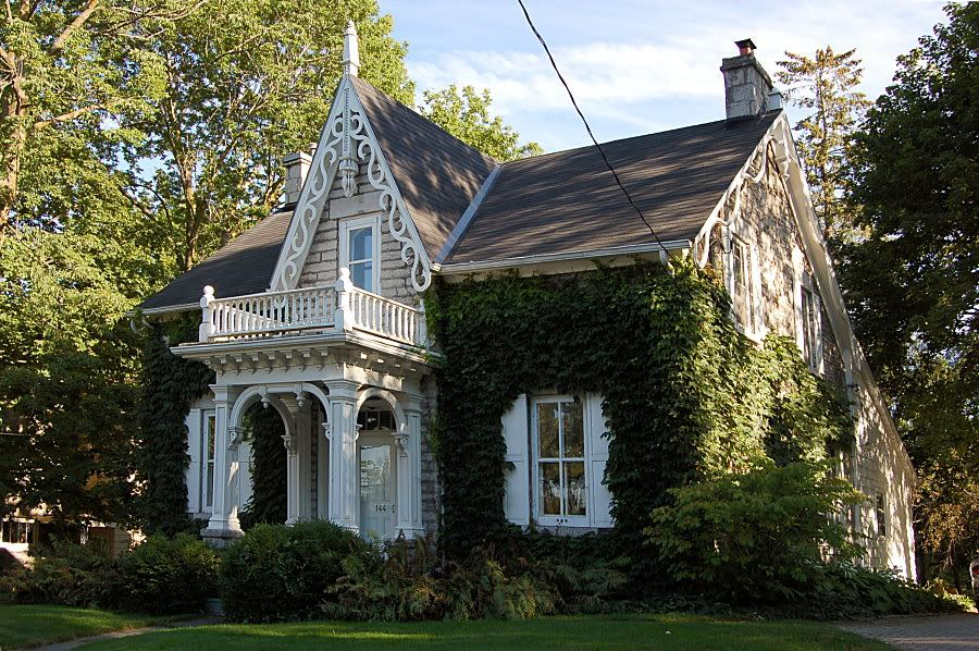 Gothic Revival Cottages Gothic House Cottage House Plans Cottage Homes
