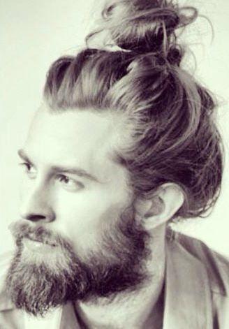 Man Buns And Top Knots And Traction Alopecia Oh My Long Hair Styles Men Man Bun Hairstyles Man Bun Beard