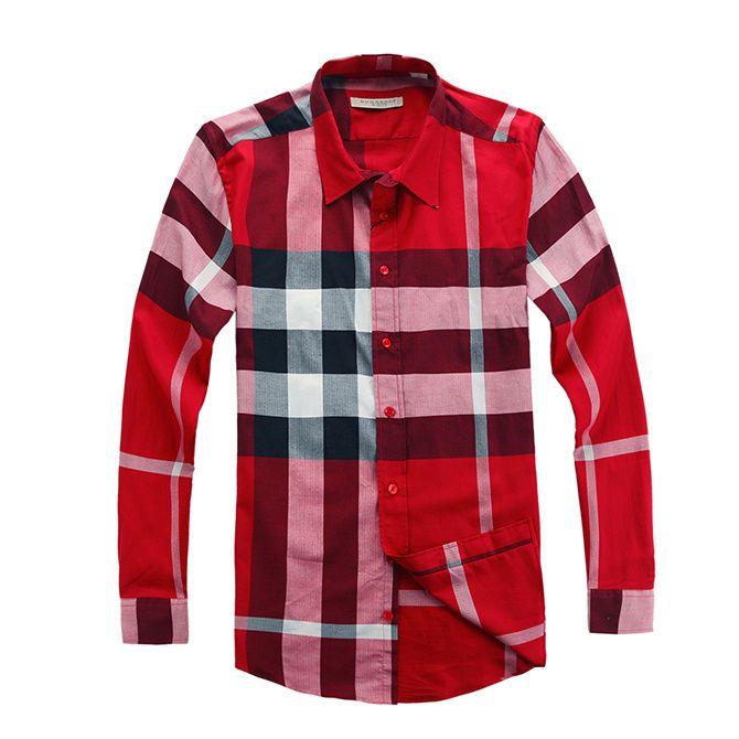 Burberry Men Shirt 2014-2015 BTS185