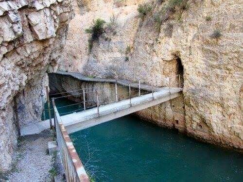 Cañón de los Almadenes, Las Minas, Hellin (Albacete)