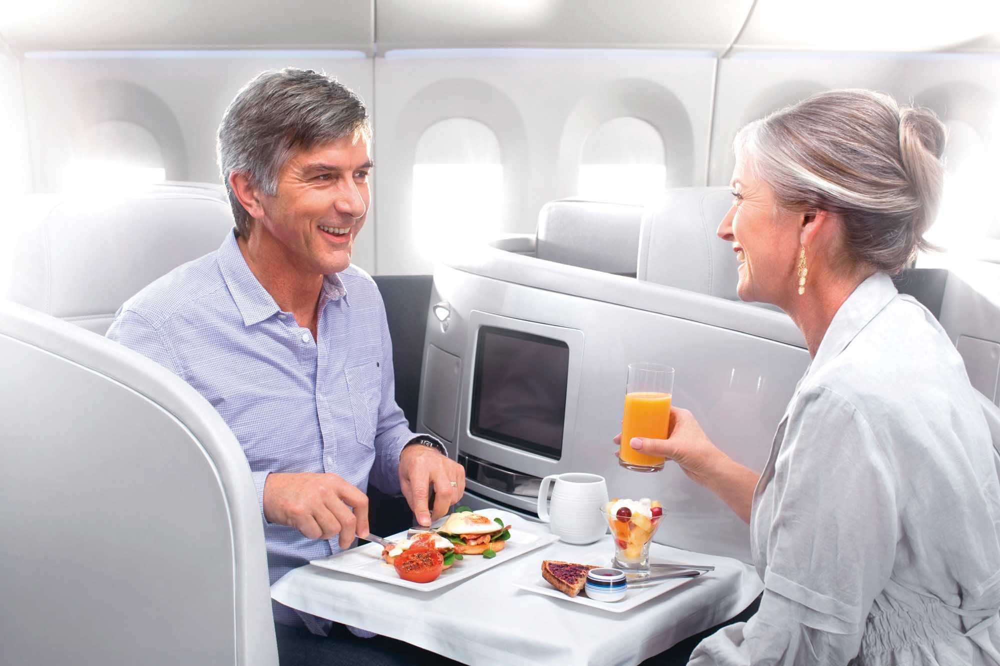 Air New Zealand B777-300ER business class    http://www.businesstraveller.com/tried-and-tested/airlines/air-new-zealand/air-new-zealand-b777-300er-business