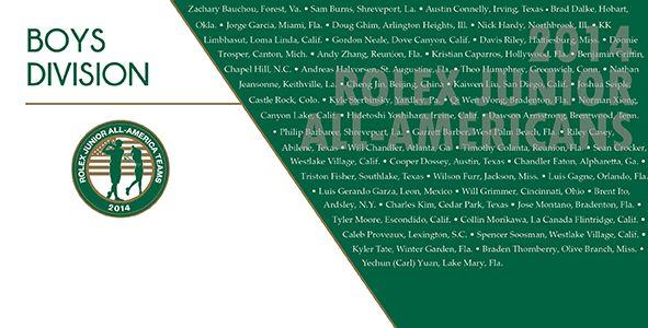 12+ All american junior golf tour ideas in 2021