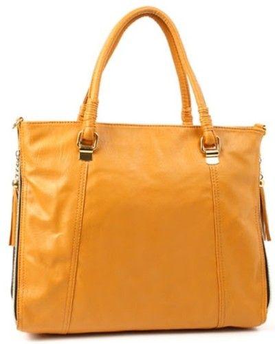 Orange Women Ladies HandBag  eBay