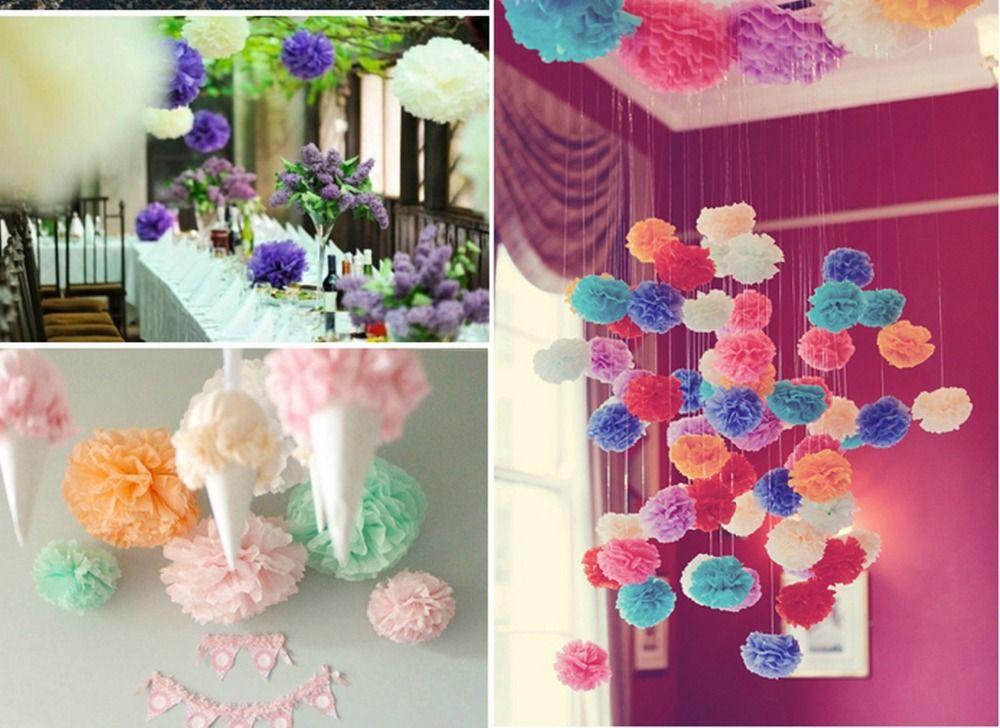 Decoracion con pompones de papel buscar con google for Papel de decoracion