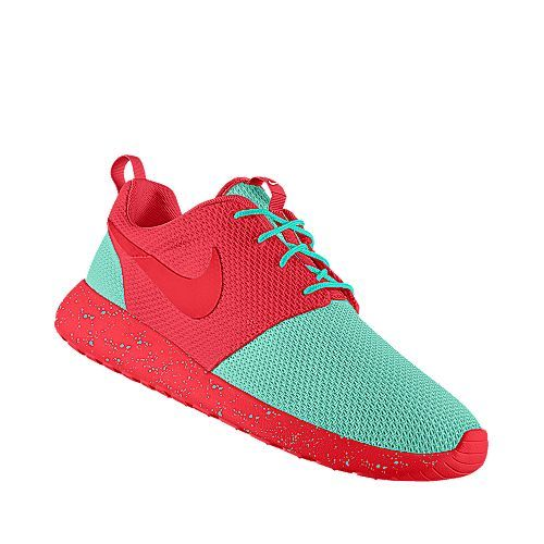 I designed this at NIKEiD but should the nike symbol be red or teal?