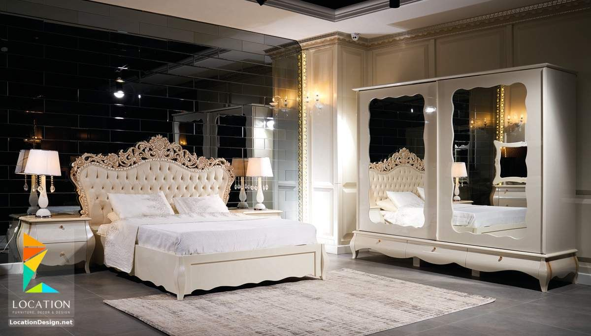 غرف نوم للعرسان كامله 2019 2020 لوكشين ديزين نت Classic Bedroom Furniture Classic Bedroom Luxurious Bedrooms