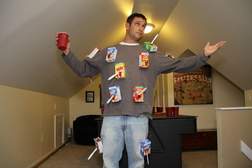 12 perfectly pun derful costume ideas cereal killer costumes and 12 perfectly pun derful costume ideas solutioingenieria Image collections