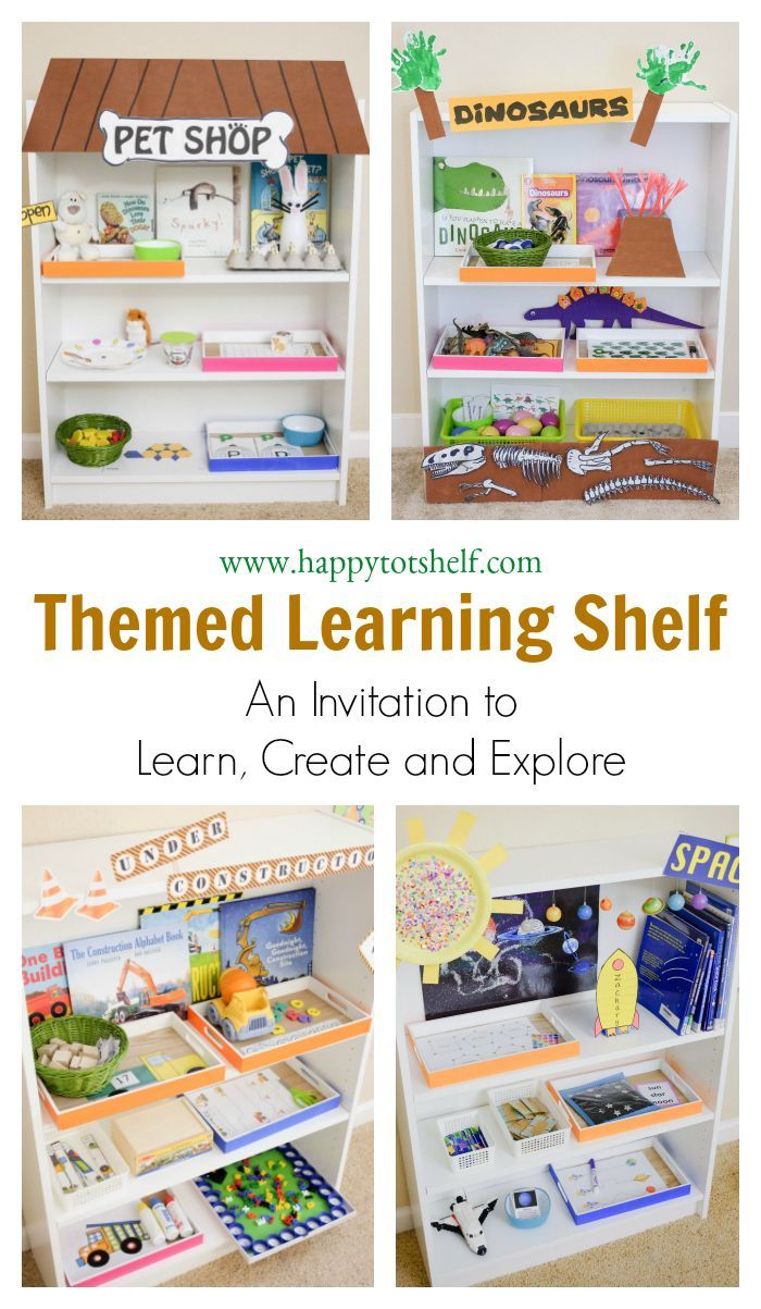 How HTS Works | Shelves, Learning and Montessori