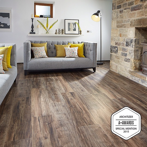 The Best Basement Flooring Options: The Beautiful Vinyl Plank From Karndean, The Looselay Hartford, Was Honourd With A Special