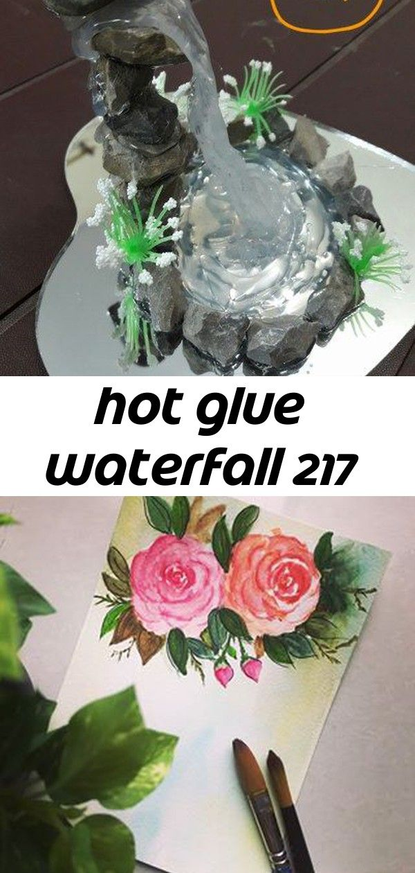 Hot glue waterfall 217 (adsbygoogle = sbygoogle || []).push({}); Hello! Today I am featuring a very creative craft project by Artist 'Sneha Chaurasia'. This beautiful decorative waterfall model is ma… Have a great day! ? Guerrero Terrarium Kit