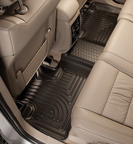 Husky Liners 2nd Seat Floor Liner Fits 0817 Enclave 0917 Traverse 2nd Bucket On Sale Check It Out With Images Husky Liners Floor Liners Black Floor