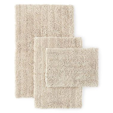 Chenille Lines Bath Rug Collection Found At Jcpenney