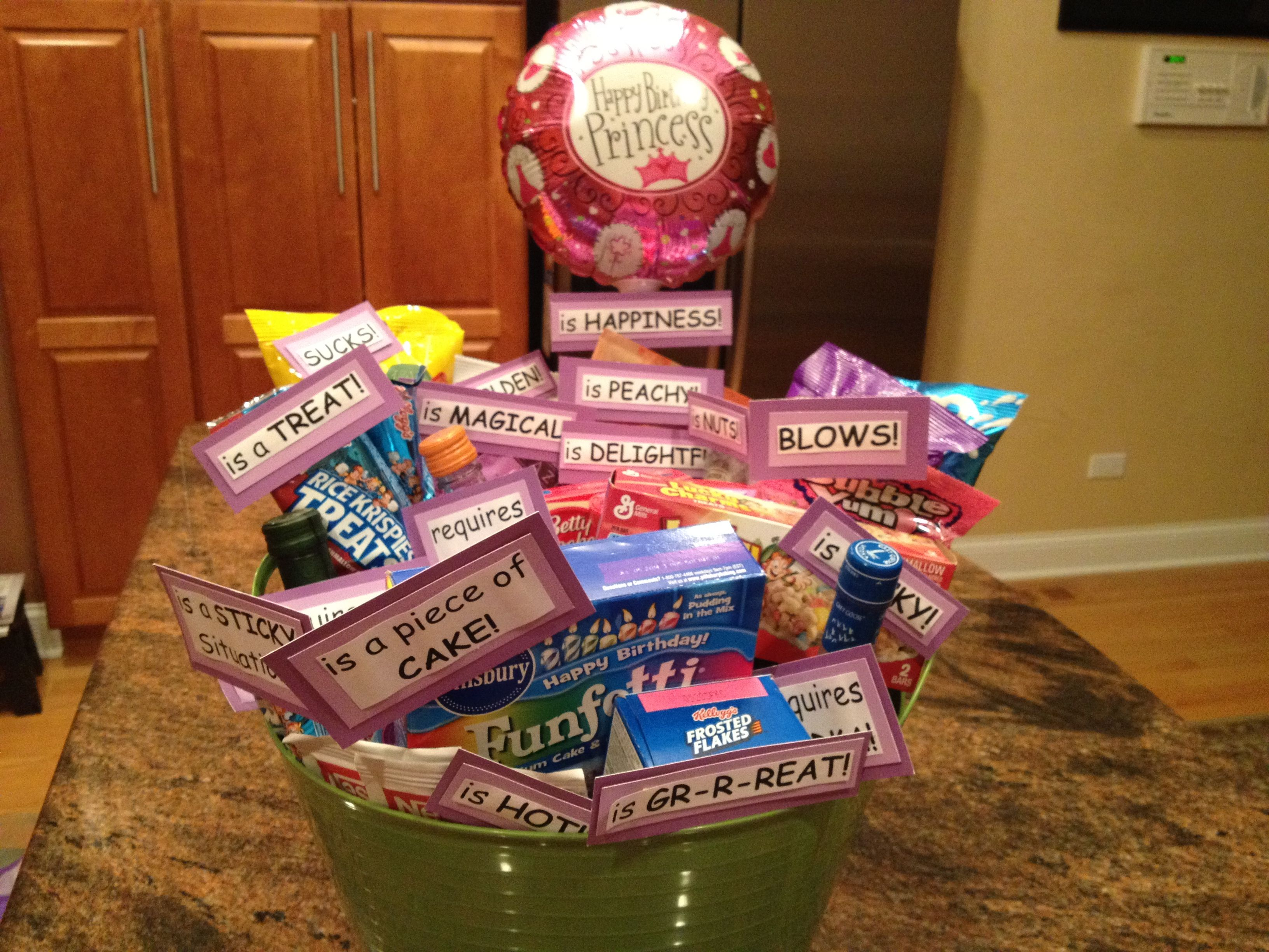 Some People Say Turning 30 Birthday Basket