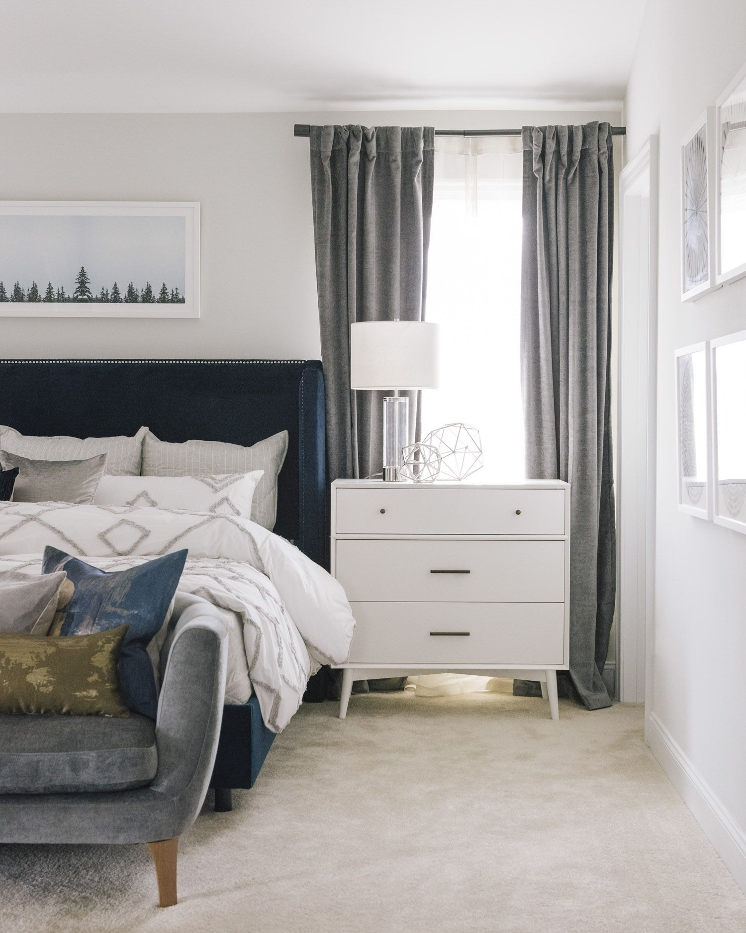 Master Bedroom Staging Ideas: A Relaxing North Carolina New-Build Staged To Sell