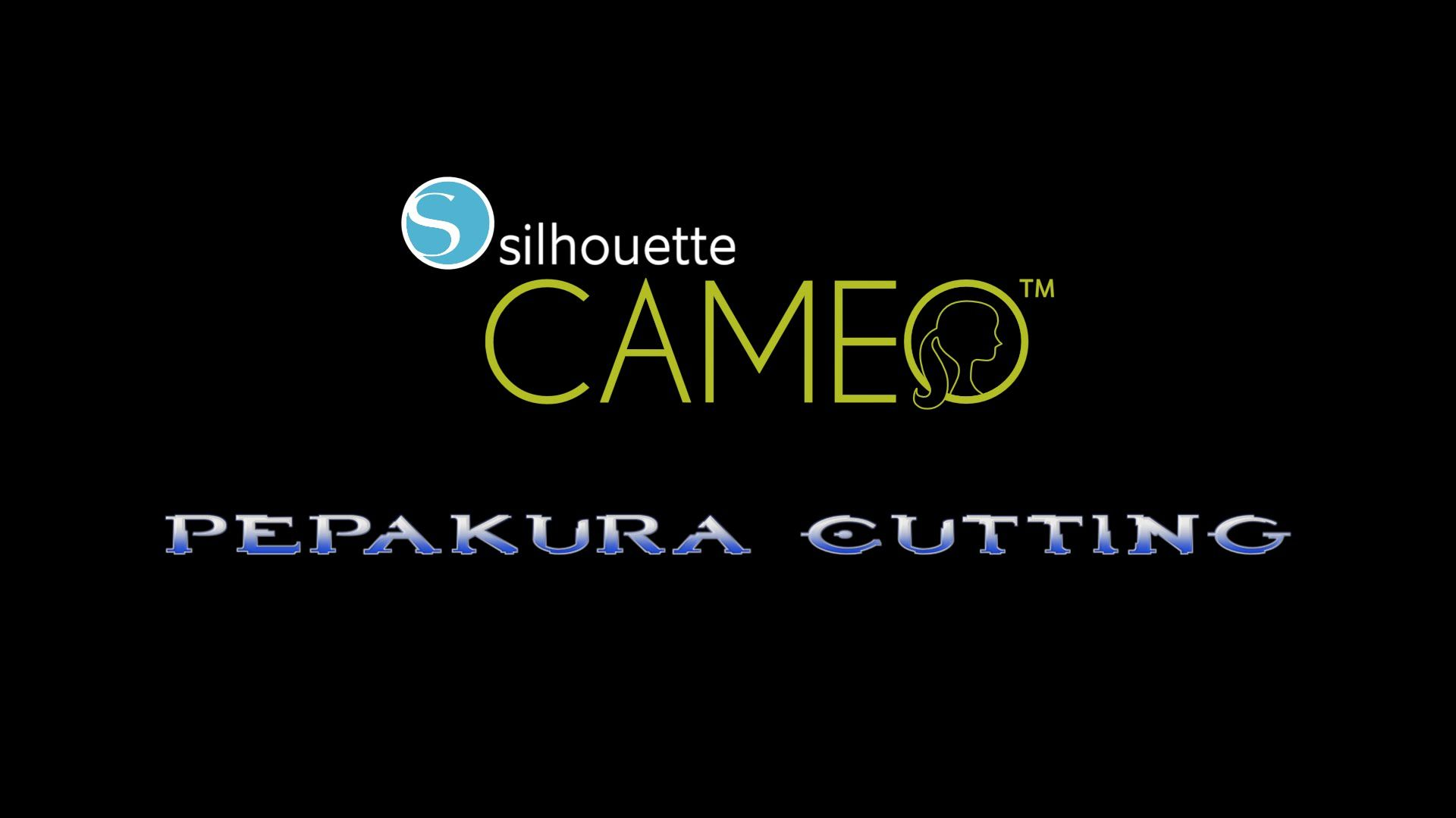 Tutorial For Cutting Pepakura Parts Using A Silhouette Cameo Cutting