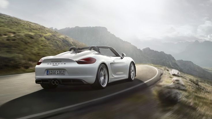 2016 Porsche Boxster Spyder Wallpapers Specs Videos 4k in Boxster Spyder Wallpap…