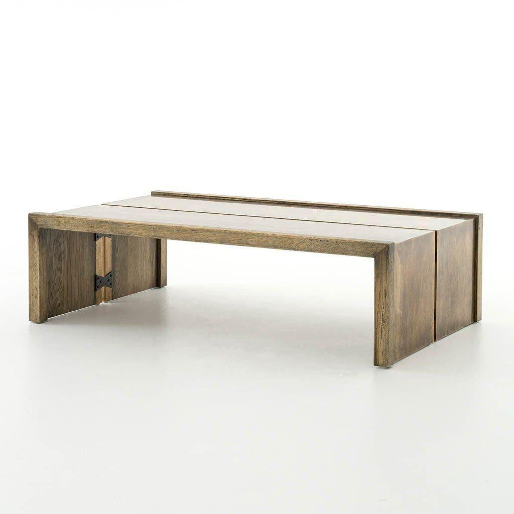 Brass Modern Four Hands Weaver Brass Coffee Table For Sale Image 7 Of 7 Coffee Table Coffee Tables For Sale Furniture