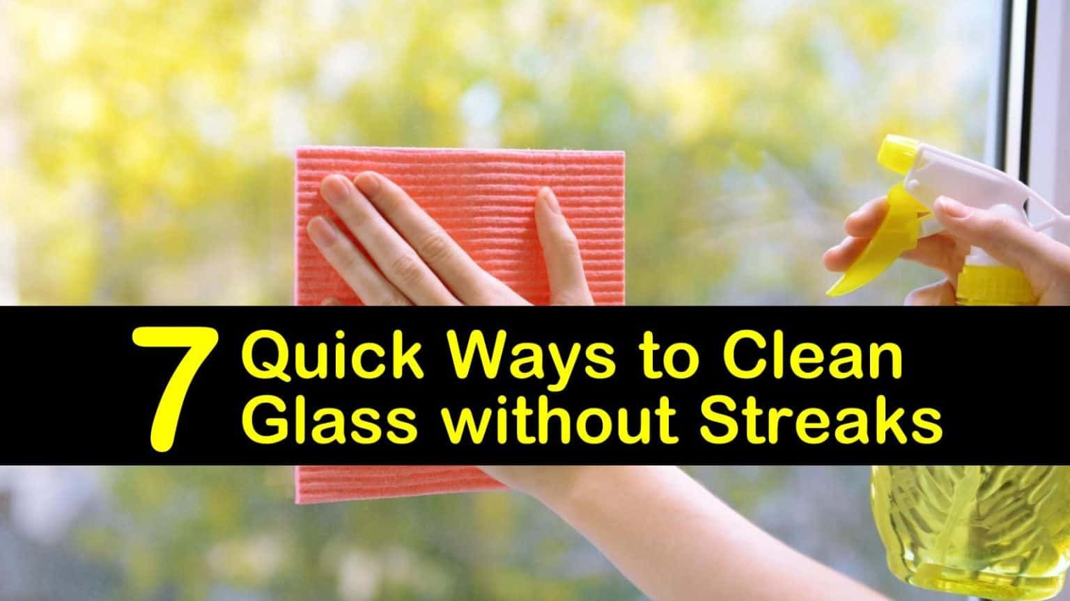 how to clean inside of windshield without streaks