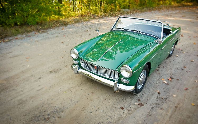 A classic MG: 1962 Midget - vintage