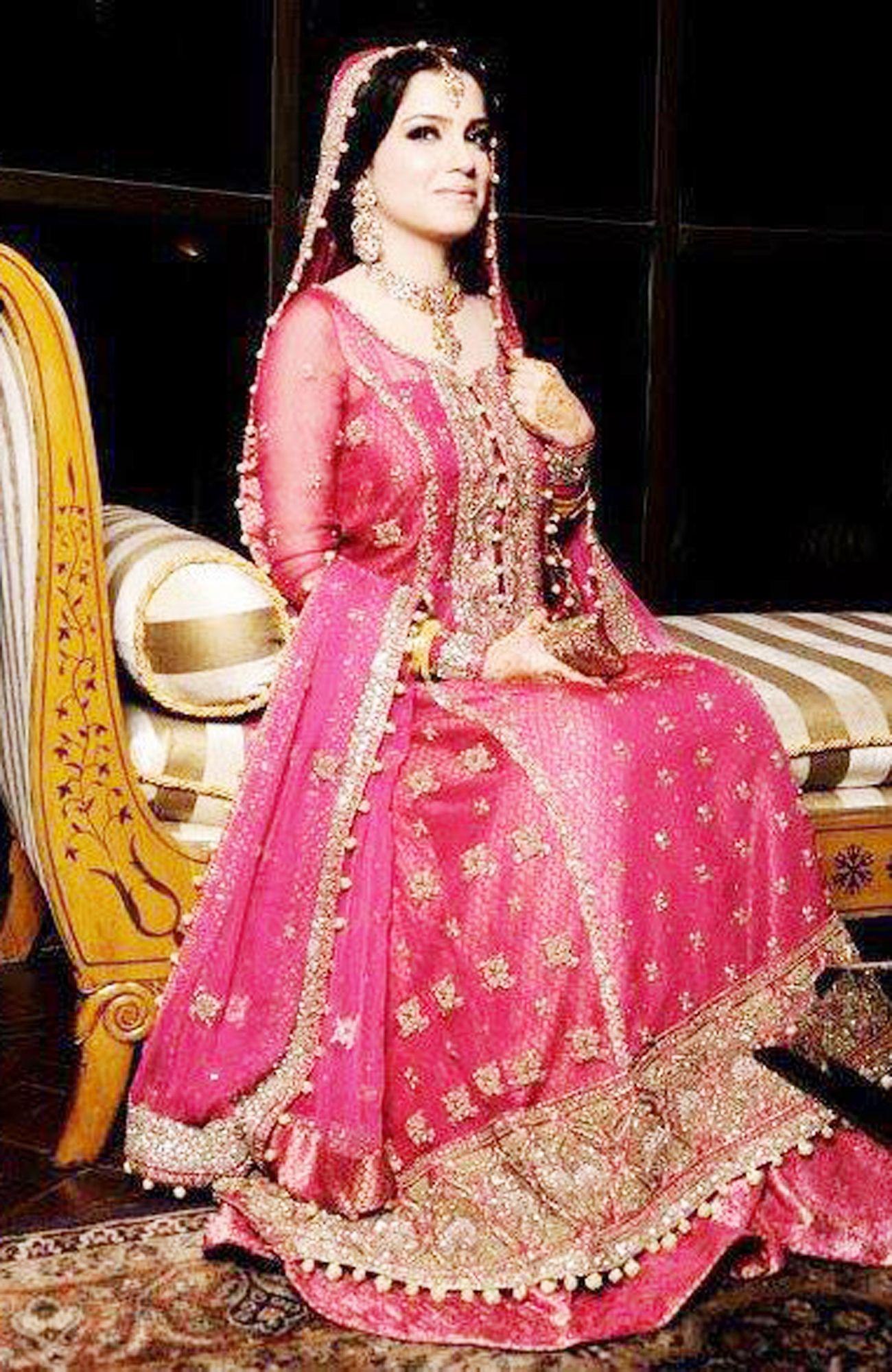 Pakistani Designer Bridal Dresses In Pink ... | Shaadi outfits ...