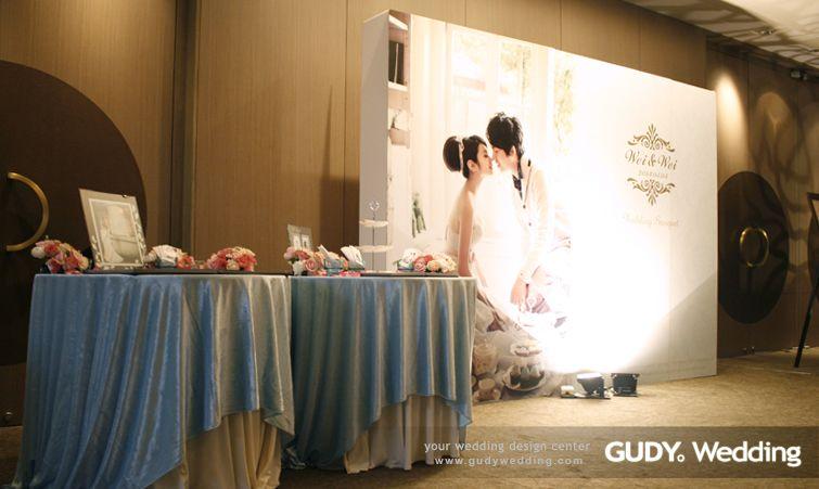 GUDY Wedding 婚禮設計 - 婚禮佈置♥艾美酒店*浪漫下午茶