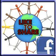 facebook like to share