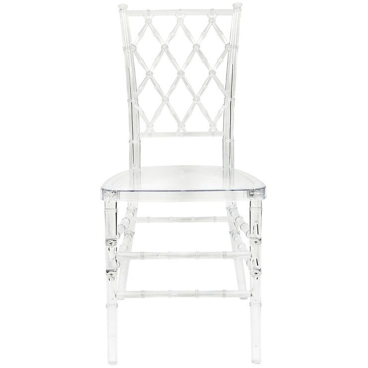 Elsa Clear Lucite Dining Chairs